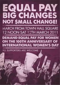 2011 IWD poster