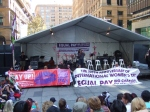 Martin Place stage